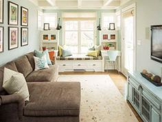 Bright Living Room Colors. Image result for very small narrow living room traditional style interior design tips a long  Google Search