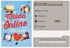 Livros e marcadores2: Miúda Online de Zoe Sugg