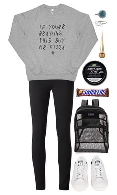 """""""Unbenannt #1617"""" by avonearth ❤ liked on Polyvore featuring Moschino, adidas, JanSport, Christian Louboutin and Penny Preville"""