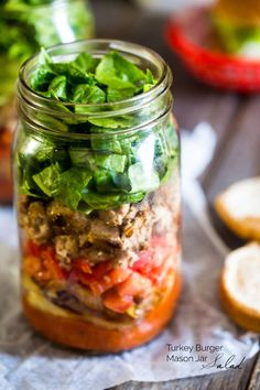 Check out the 30 BEST salad in a jar recipes from your favorite healthy food bloggers!