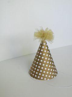 Golden Birthday party hat
