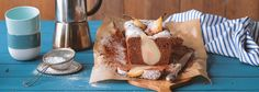 Gartenparty? Kaffeeklatsch? Der saftige Birnen-Kuchen passt perfekt zu Kaffee & Tee. Probieren Sie den schmackhaften Kuchen einfach selbst aus! Zum REWE Rezept: »