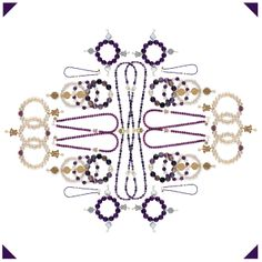 We are seeing all things purple in bowerhaus kaleidoscope ..