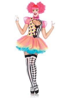 Harlequin Sweetheart Costume