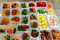 "The Paleo diet plan can be simple if you do a little Paleo Meal Prep one day of the week and make the whole week ahead a ""heat and eat"" kind of week. Paleo Meal Prep, Paleo Diet Plan, Easy Meal Prep, Easy Meals, Food Prep, Paleo Food, Freezer Meals, Clean Eating Recipes, Healthy Dinner Recipes"