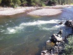 Rio Minho - correntes em Melgaço