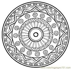 henna coloring pages   Pin Free Printable Mandala Coloring Pages Easter Eggs And Spring on ...
