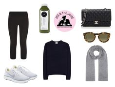"""PW to Joe & the Juice"" by salma12222 ❤ liked on Polyvore featuring Acne Studios, NIKE, Jardin des Orangers, CÉLINE and Chanel"