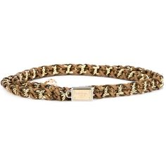 Dolce & Gabbana Chain Belt (1,035 CAD) ❤ liked on Polyvore