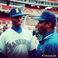 For going back-to-back. #ThanksJr #Mariners