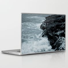 Buy Crashing Waves On Rocks Laptop & iPad Skin by ARTbyJWP. Worldwide shipping available at Society6.com. Just one of millions of high quality products available.