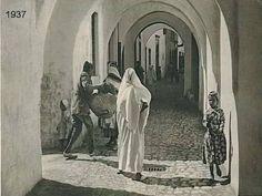 المدينة القديمة عام 1937 طرابلس ليبيا