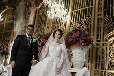 Pernikahan Nuansa Putih dan Gold di Ritz Carlton Pacific Place - Qorina Rifki weddingday_1100
