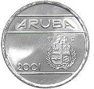 5 Cents #Aruba -1989-2012 A sostituito il florino delle Antile Olandesi.