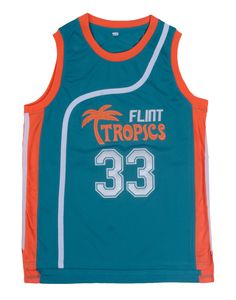 5bdcacc07c3 Retro Basketball Jersey Movie Semi Pro Flint Tropics Jackie Moon 33# Coffee  Black 7# Ed Monix 11# Throwback Jerseys All Stitched-in Basketball Jerseys  from ...