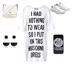 """Untitled #289"" by inthesummer on Polyvore featuring Moschino, Converse, Tory Burch and Marni"