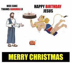 Happy Birthday Jesus. Nice one. ♥