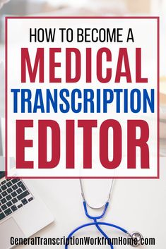 Want to get a medical transcription career? Learn how to become a medical transcriptionist and medical transcription editor. Work from home and get online remote transcription jobs. #medicaltranscription #MTE #MT #medicaltranscriptionjobs #transcription #medicaltranscriptionist #medicaltranscriptioneditor #medicaltranscriptionjobsathome #editor #transcriptiontraining medicalcareers #onlinejobs #workfromhome #makemoneyfromhome Transcription Training, Medical Coding Jobs, Transcription Jobs From Home, Transcription Jobs For Beginners, Typing Jobs From Home, Online Typing Jobs, Online Side Jobs, Best Online Jobs, Work From Home Business
