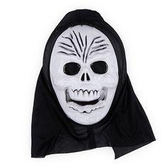Halloween Horror Skull Ghost Mask for Masquerade Cosplay - White Skeleton
