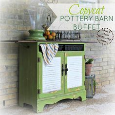 Don't Mess With My Tutus! : Copycat Pottery Barn Buffet