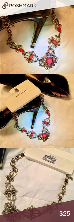 NWT Van Heusen Statement Necklace Colorful, stunning statement necklace from Van Heusen.  Retails for $42 Van Heusen Jewelry Necklaces