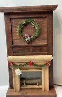 Dollhouse Miniature Artisan Brass And Black Coated Fireplace Box George Chapman? | eBay Fireplace Box, Fireplace Mantels, Flickering Lights, Wood Logs, Dollhouse Miniatures, Christmas Wreaths, Artisan, Woodworking, Brass