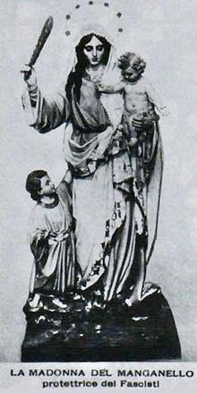 Madonna con il manganello (Monteleone)