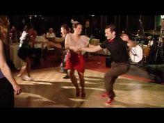 Fun Swing social dancing! Maybe a bridal party dance....