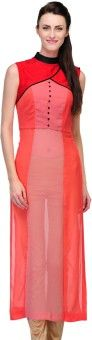 Just Wow Wedding, Party Solid Women's Kurti
