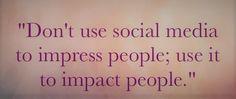 Social Media, Social Networks