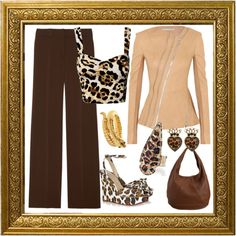 """""""Leopard oh Leopard...... how far our thou"""" by carolwatergirl on Polyvore"""
