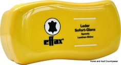 Effax Speedy Leather Shine It s strkingly simple apply to boots saddles or bridles and the leather will shine again as if it were