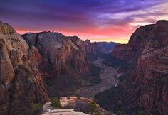 Sunset Pinspiration   My Top 5 Sunset Photos Zion National Park