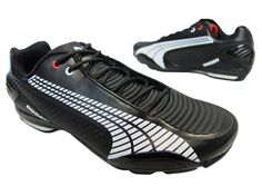 Puma Ducati Mens Testastretta 3 White Red Black Casual Fashion Sneakers Shoes