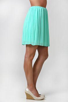 flirty spring skirt