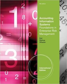 Accounting information systems 13th edition ebooks pinterest accounting information system foundations in enterprise risk management richard b dull fandeluxe Images