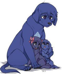 Dog!Arata, Dog!Touka, and Dog!Ayato ||| Tokyo Ghoul Dog AU Fan Art by poochiena on Tumblr