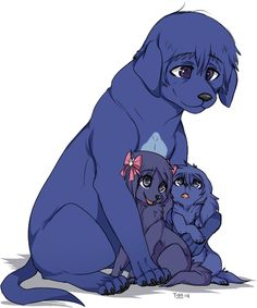 Dog!Arata, Dog!Touka, and Dog!Ayato ||| Tokyo Ghoul Dog AU Fan Art by poochiena on Tumblr