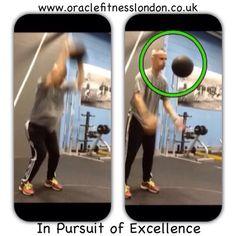 Medicine Ball slam downs. Developing power at #PerivalePark #Athletics #Track. #Fitness #Training #OracleFitnessLondon  www.oraclefitnesslondon.co.uk