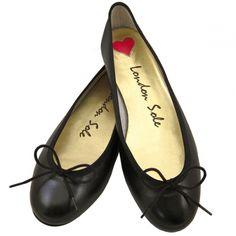 Henrietta Black Leather