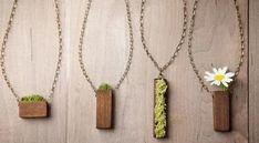 Canlı bitki kolye modelleri saksıda çiçek seven anneler için | Kadınca Fikir - Kadınca Fikir