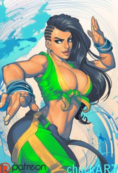 Man, I'm stoked for Street Fighter 5. I love all the new characters and I'm just loving the vibe of it! Laura most of all so I did some fan artness! Yeah so, my Patreon content has landed. Th...