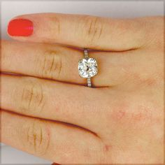 Leigh Jay Nacht Inc. - Replica 1930's Engagement Ring - 1030-01