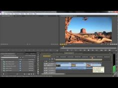 Adobe Premiere Pro CS6 Tutorial | Changing Clip Speed | Infiniteskills - YouTube