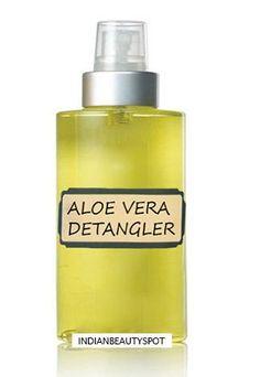 Aloe Vera Hair Spray for hair growth - ♥ IndianBeautySpot ♥