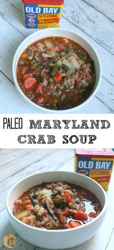 Paleo Russian Green Bean and Potato Soup