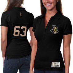 UCF Knights Women's Collar Scholar Polo - Black $48