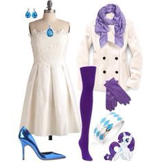 Rarity inspired outfit <3