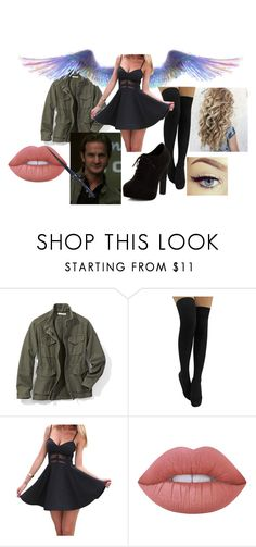"""""""Supernatural // Gabriel"""" by ahamilton1674 ❤ liked on Polyvore featuring Vince, Lime Crime and New Look"""