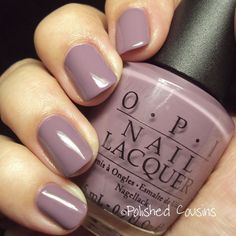 Parlez-Vous OPI - perfect color to transision from Winter to Spring